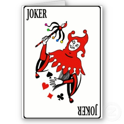 Joker in Deck of Cards http://rapgenius.com/1628278/Shizzy-sixx-the-jokerr-diss/Youre-the-joker-the-most-meaningless-card-in-the-deck