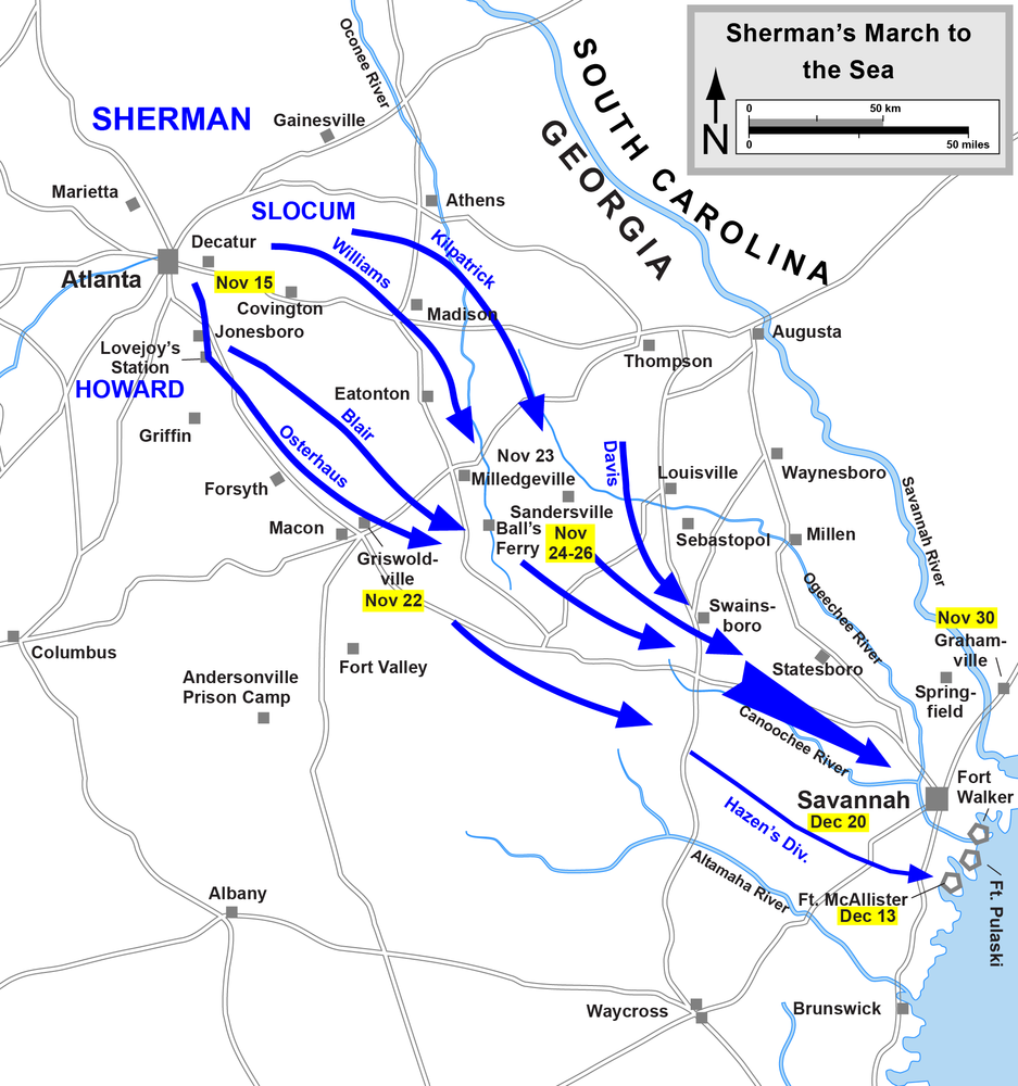 Sherman's march significance