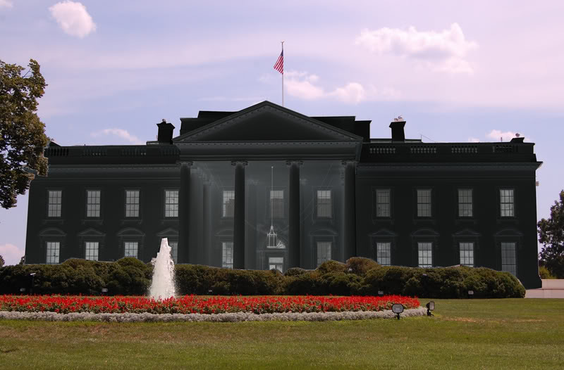 paint the white house black brown paint the white house