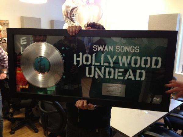 The debut album by hollywood undead released in 2008 in 2013 the album