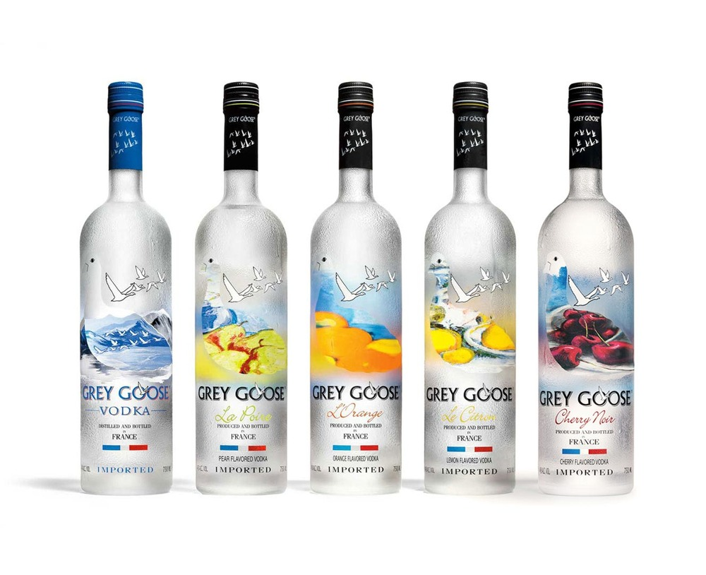 to the drink Grey Goose Grey Goose