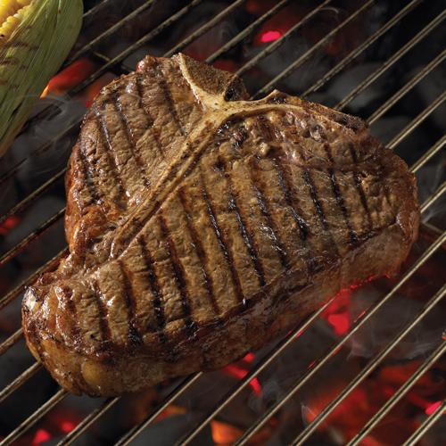 Porterhouse steak how to grill any steak in 5 steps by for Porterhouse vs t bone
