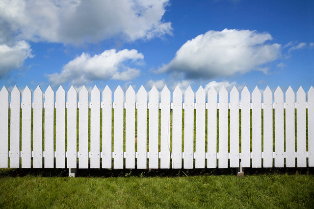 Picket Fences Blocked The Visions I Was Sent To Hold