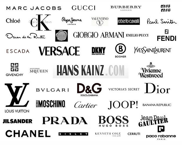 List Of Designer Clothing Names List Of High End Watches