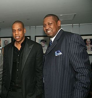 Photo of Jay-Z & his  Brother  Erick Carter