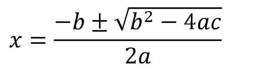 1373648040 Quadratic Formula jpgQuadratic Formula