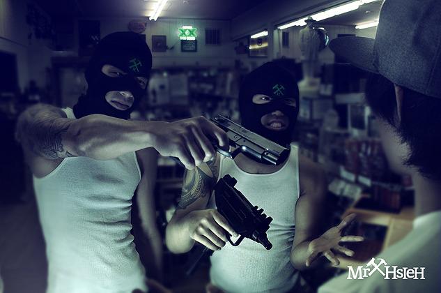 Black Menace - G.A.N. (Gettoasnigga) EP