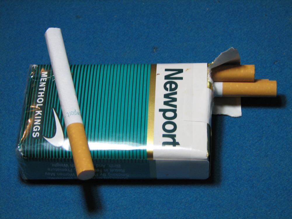 Cigarette superkings menthol lights
