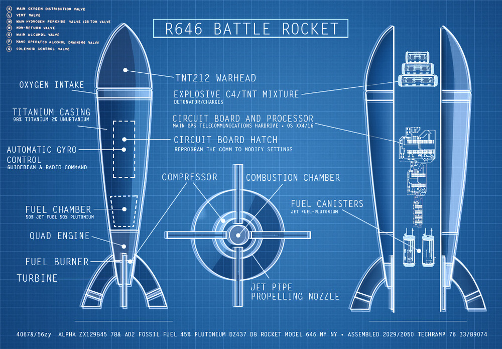 Now Im turning, this the Blueprints for a missile – Bad News Part 2 ...