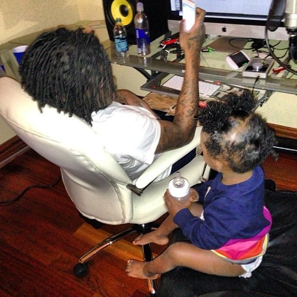 Chief Keef Daughter Toy Cars Kay kay is his daughter and he