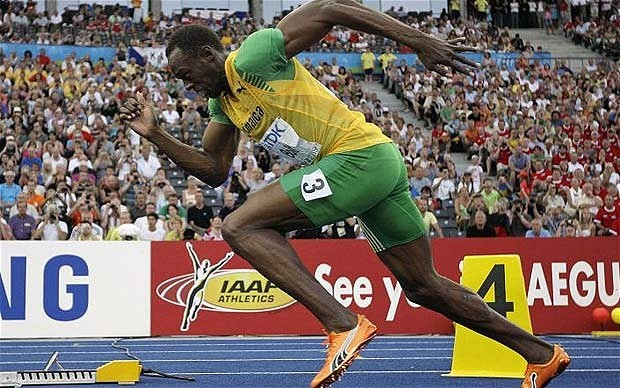 Usain Quot Lightning Quot Bolt Wins 100m Final Sports Nigeria