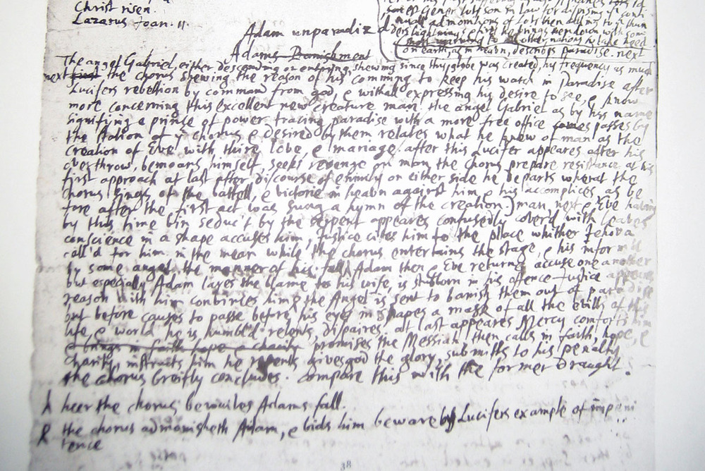 john milton writing style John milton lays a huge claim from the outset of his epic poem things unattempted yet in prose or rhyme form and writing style.
