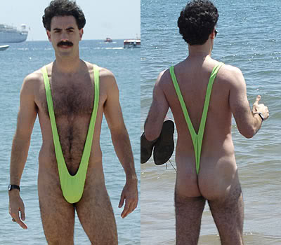 remember when   borat   was first released and everyone lost their sh t over that fluorescent green     meet the man thong of your nightmares   fashionista  rh   fashionista