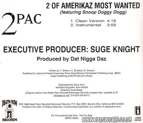 2Pac – 2 Of Amerikaz Most Wanted (Live) Lyrics - genius.com