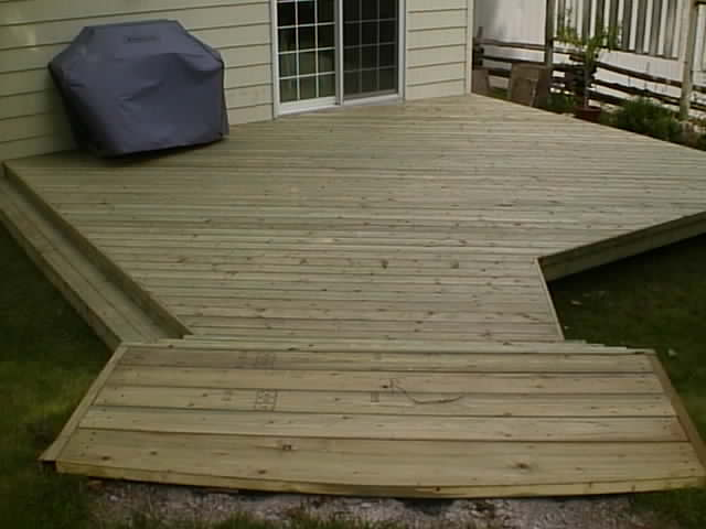 Tiered Backyard Decks : Countin money on the deck ? Men at Work 2020 by Kool G Rap