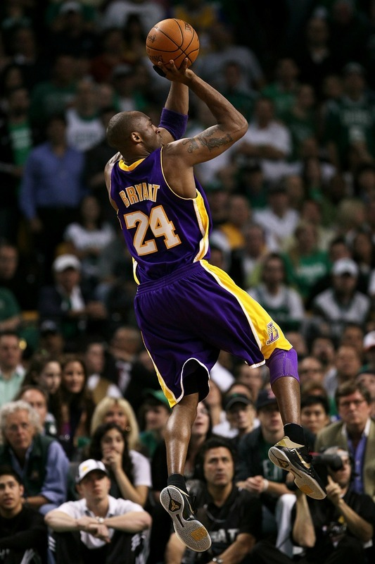 But just like Kobe all my haunting memories fade away ...