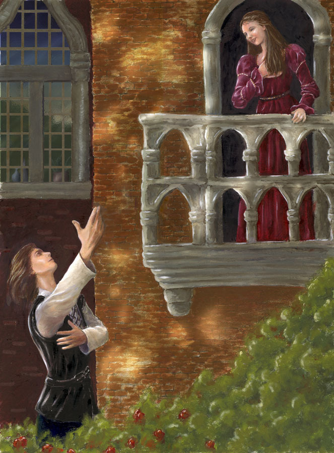 the symbolism of the balcony scene in romeo and juliet The major themes of romeo and juliet it is not until her life has completely lost meaning day 2 - day 2 begins with the balcony scene followed by romeo's.