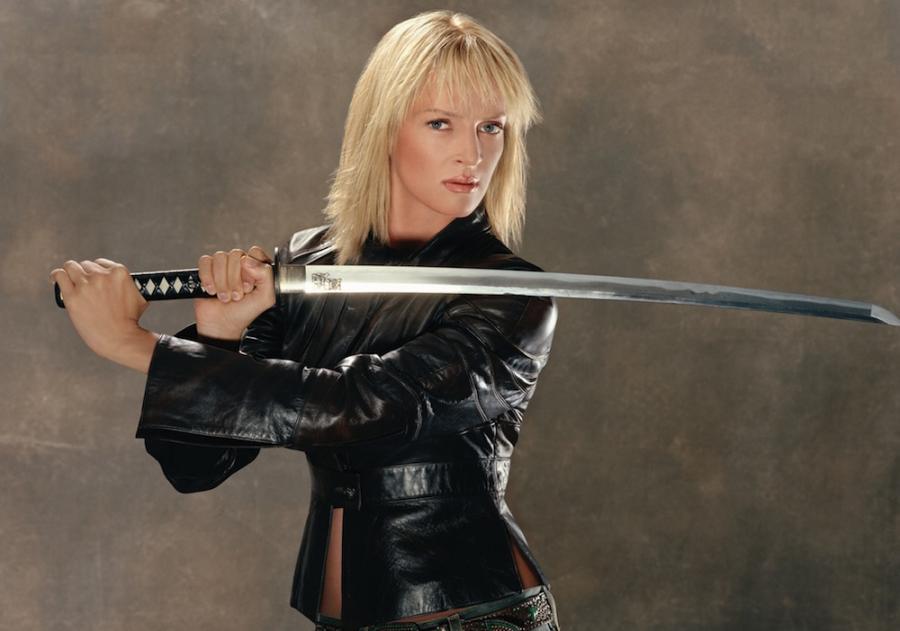 Swords, like Uma Thurm... Uma Thurman Lyrics