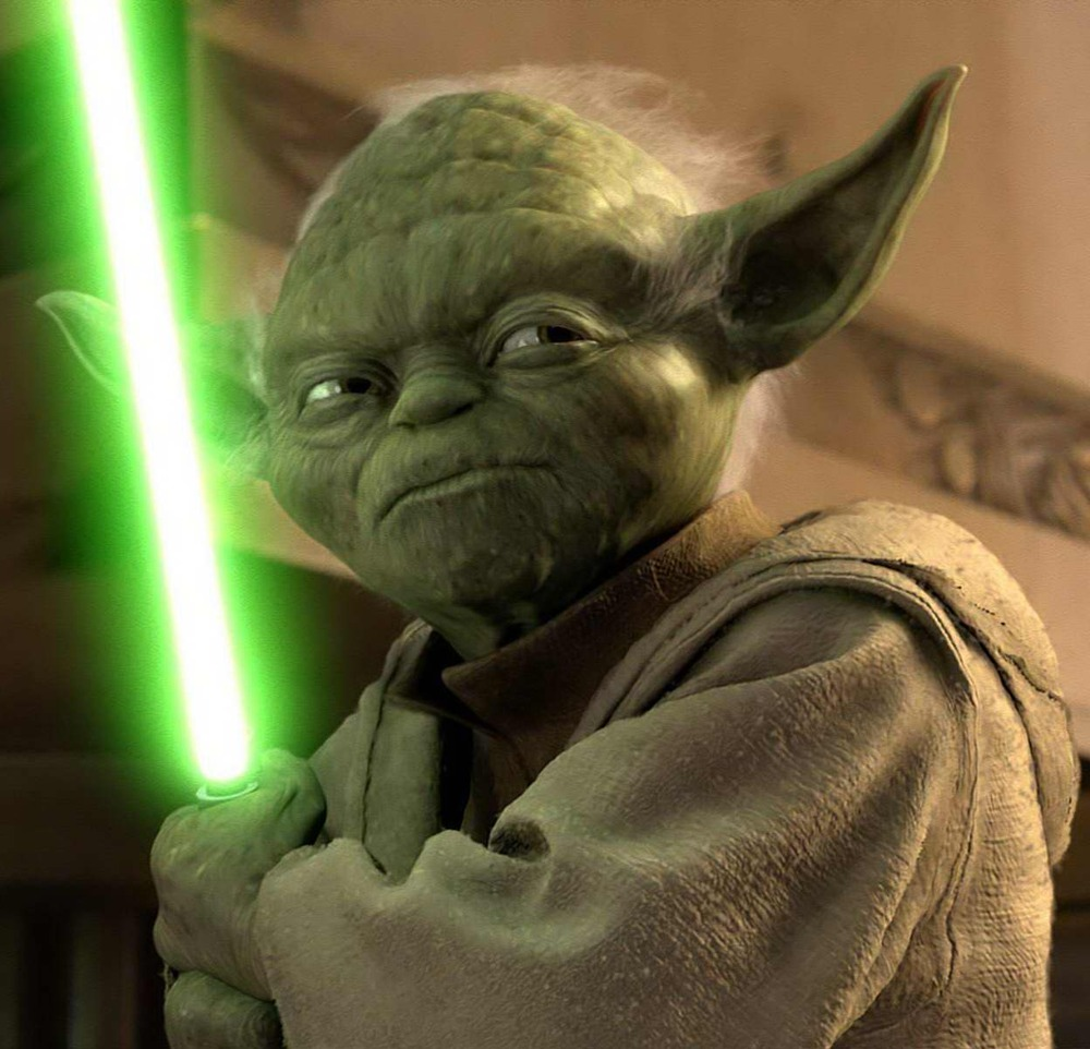 Yoda came from a very lush swamp like environment that existed on his home planet of Dagobah. In such a verdant environment, green would have been a natural camouflage adaptation. A positive survivability trait. Which could also account for the longevity of Yoda's species.