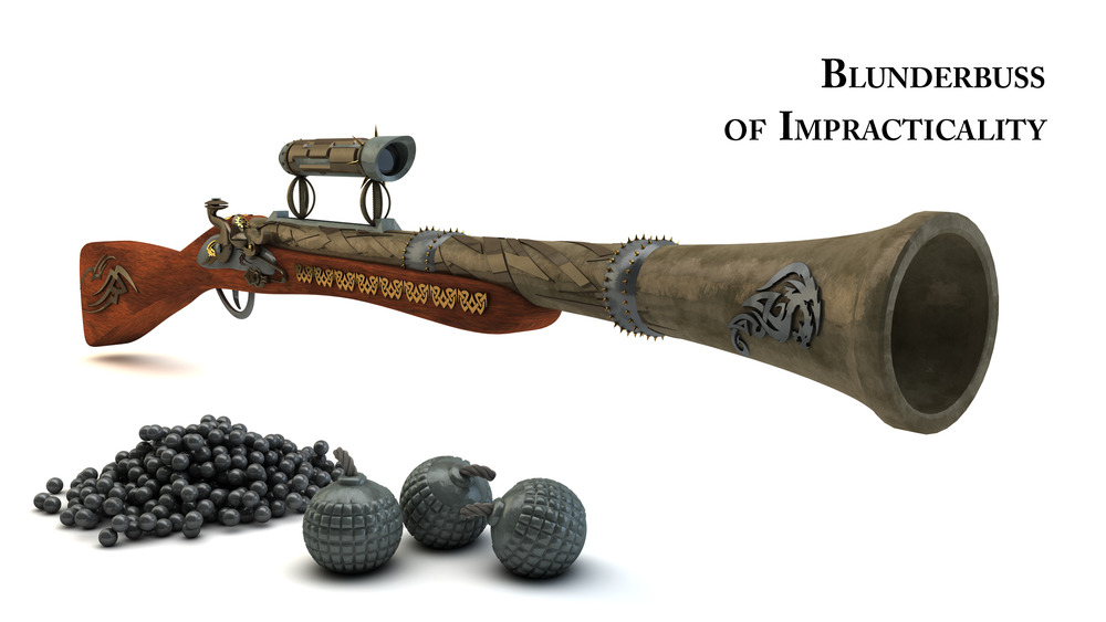 how to make a blunderbuss prop