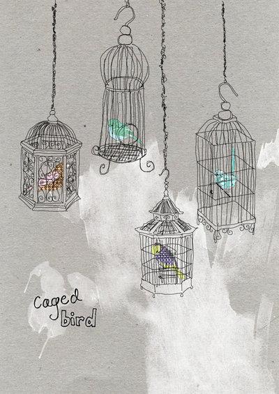 maya angelou caged bird poem pdf