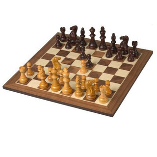 EB,Excalibur,Deluxe,Wooden,Chess,Set