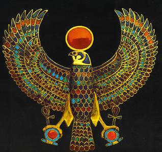 ancient egyptian eagle