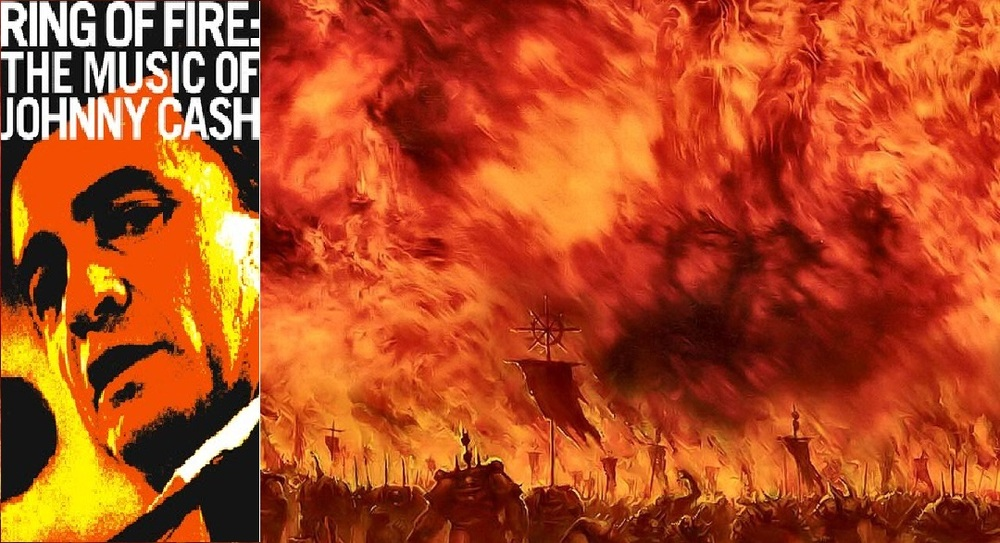 Ring Of Fire Johnny Cash Lyrics Meaning