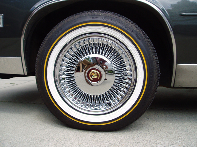 Cadillac On Trues And Vogues Wheels