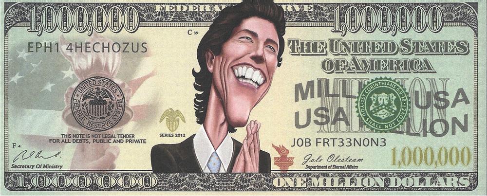million dollar bill song lyrics