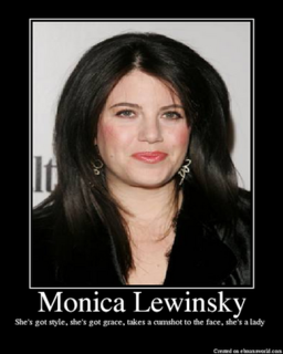 Cum en monica lewinsky