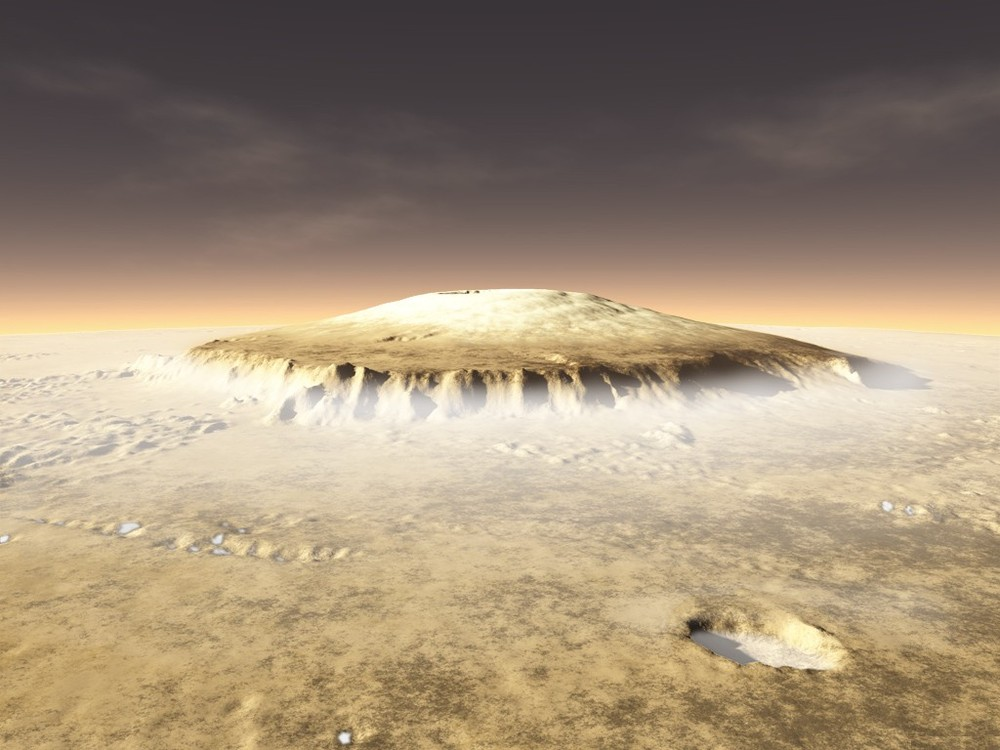 Photo Olympus Mons Olympus Mons is a Volcano Upon