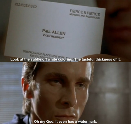 dating site psycho meme bale Breaking news: patrick bateman is real (and dating)  to believe that it was  written by none other than american psycho's patrick bateman  im to your site .