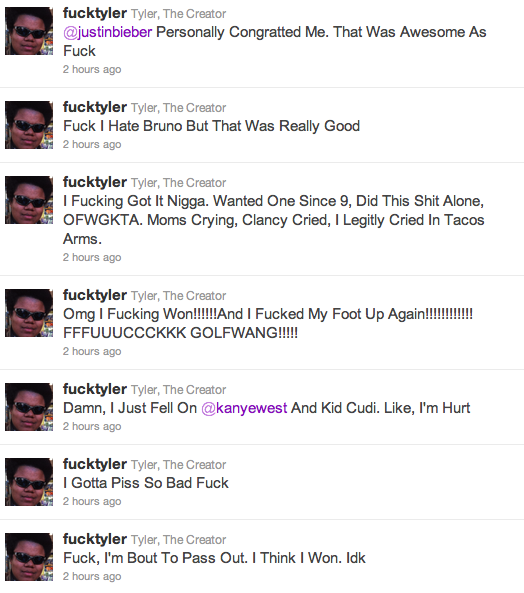 Tyler The Creator Quotes Twitter | www.imgkid.com - The ...