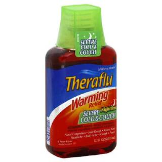 Way too cold, I promise you'll need some THERAFLU – THERAFLU