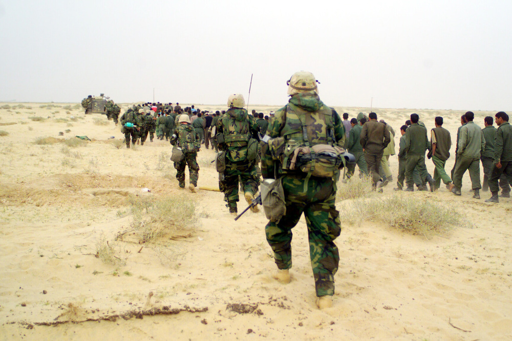 us involvement in gulf war essay The gulf war in 1990 and the invasion of iraq in 2003 both had a profound impact not just on the countries directly involved – primarily iraq and the united states (us) – but also on the geo-politics of the world.