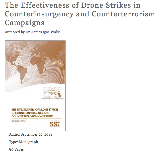 effectiveness of terrorism campaigns Of formulating an effective counterterrorism strategy of pakistan mots-clefs   although the us-led military campaign in afghanistan in october.