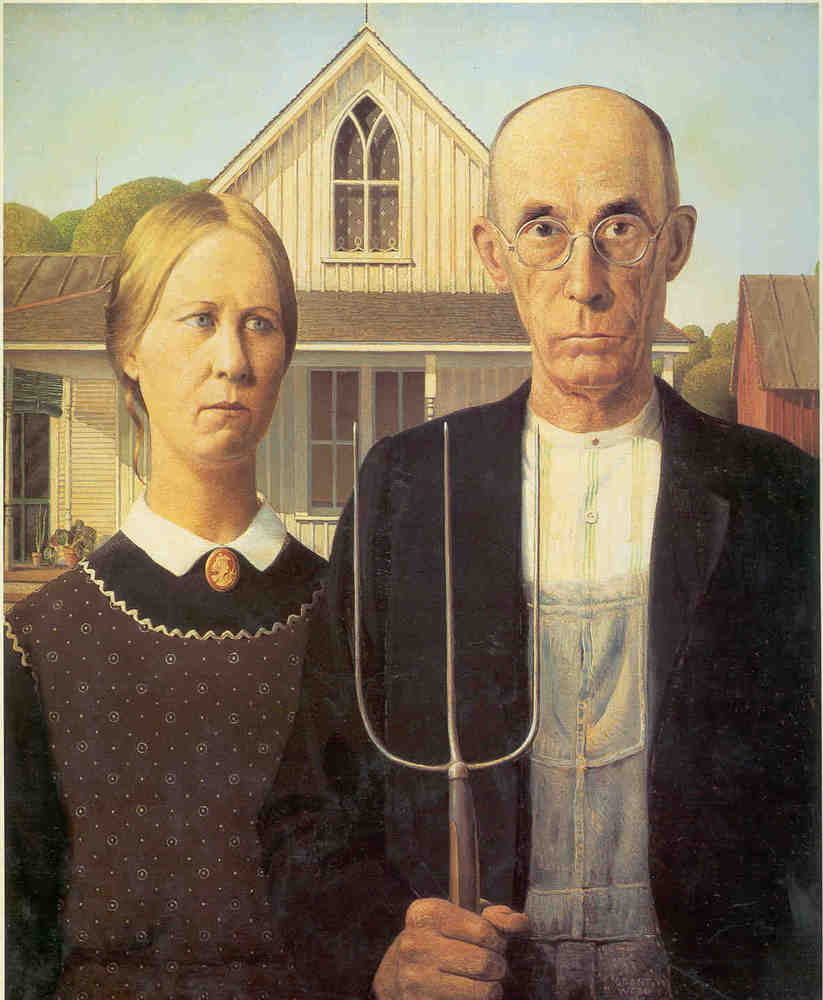 """american gothic lit American gothic grant wood (american, 1891-1941) friends of american art collection, 1930 what is """"the gothic"""" in literature of course, it cannot be explained through american gothic rock bands such as evanescence or joy division in order to understand gothic as a lite."""