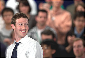 Mark Zuckerberg's photo