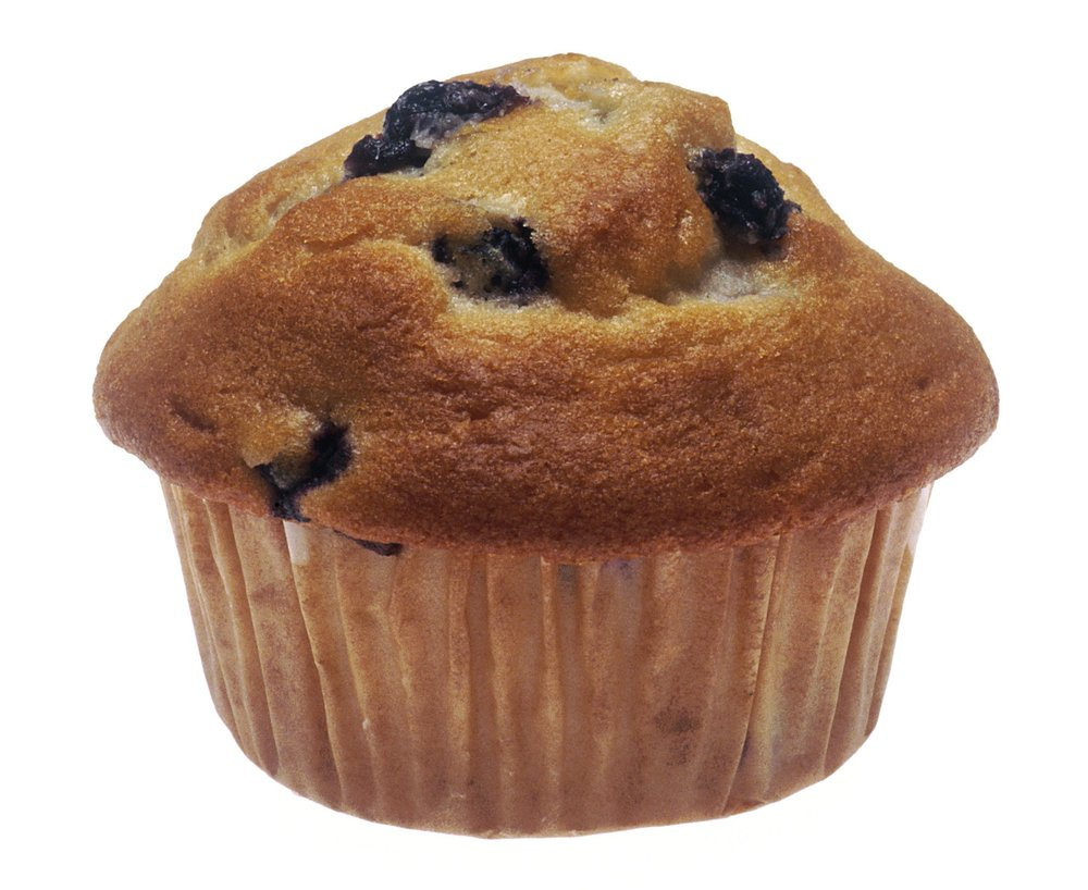 muffin simile referring to the ever so delicious blueberry muffins