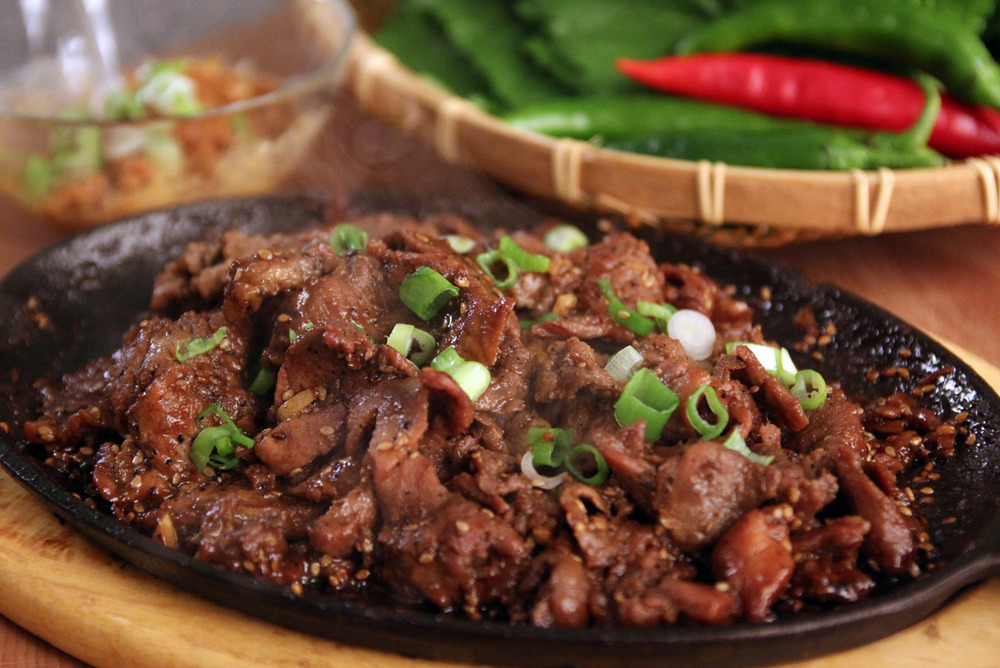 steak korean barbecue beef thin korean bulgogi steak 1 2 cup of korean ...