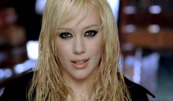 Hilary Duff let the rain fall down