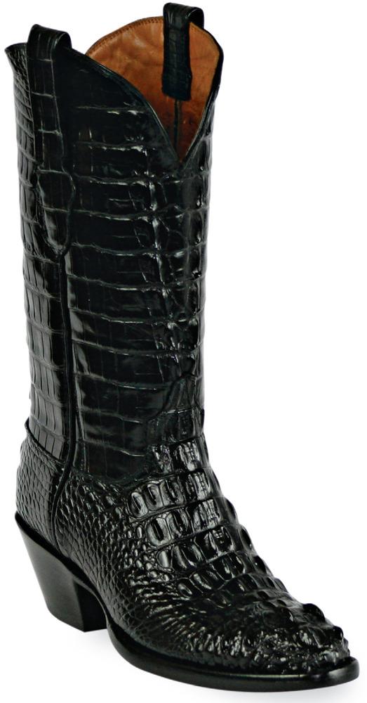 Black Jack Boots - American Alligator Hornback #111-1
