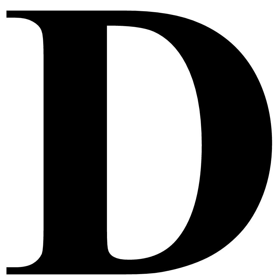 Uppercase D