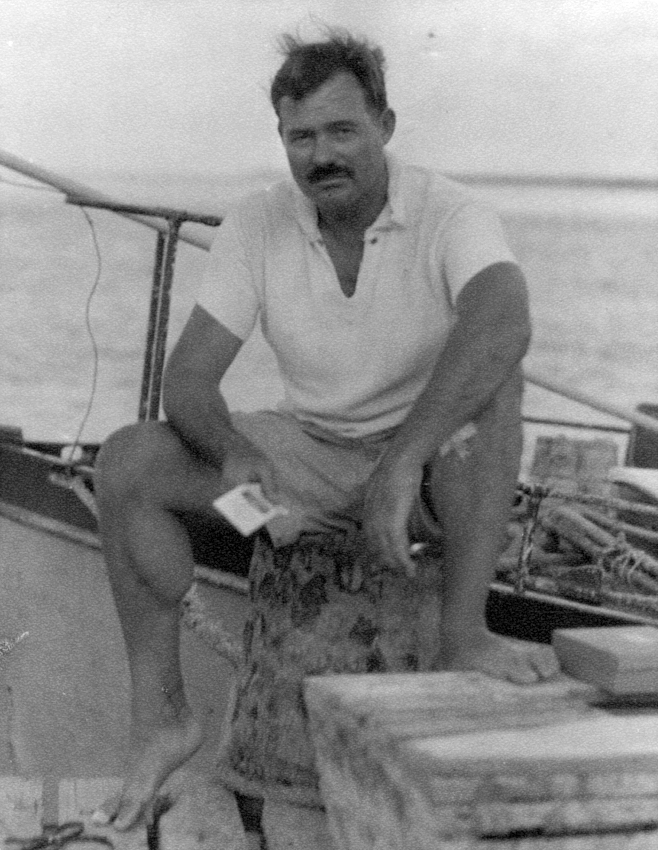Ernest HemingwayYoung Ernest Hemingway