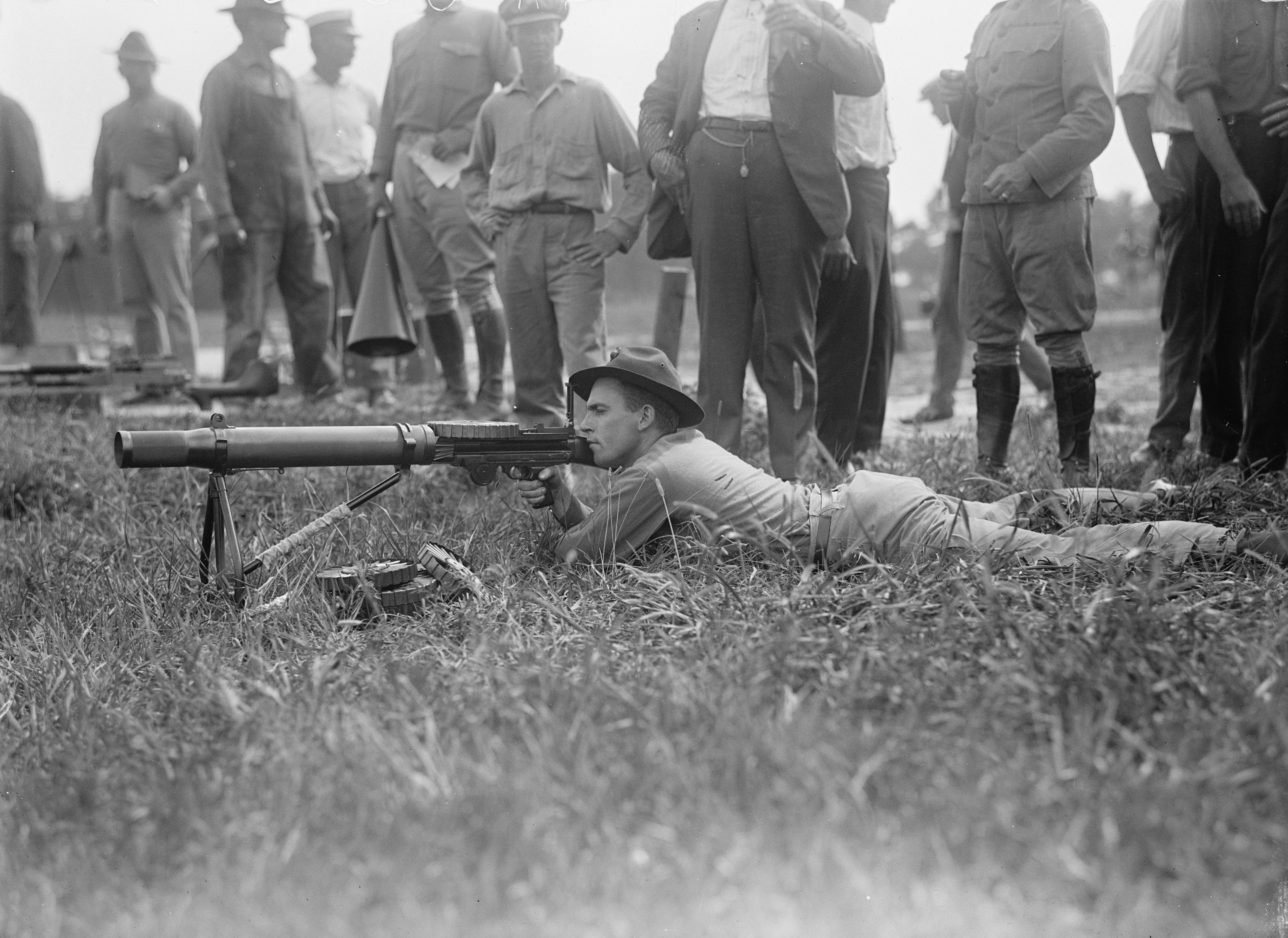 Machine Guns World War 1 This Gun in World War One