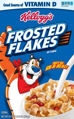 used to move frosted flakes like kelloggs � uoeno