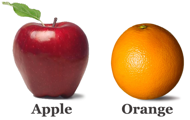 compare apples oranges essay [essay question] how are apples and oranges supposed to be compared possible answers involve as for apple and orange, the comparison is straightforward.