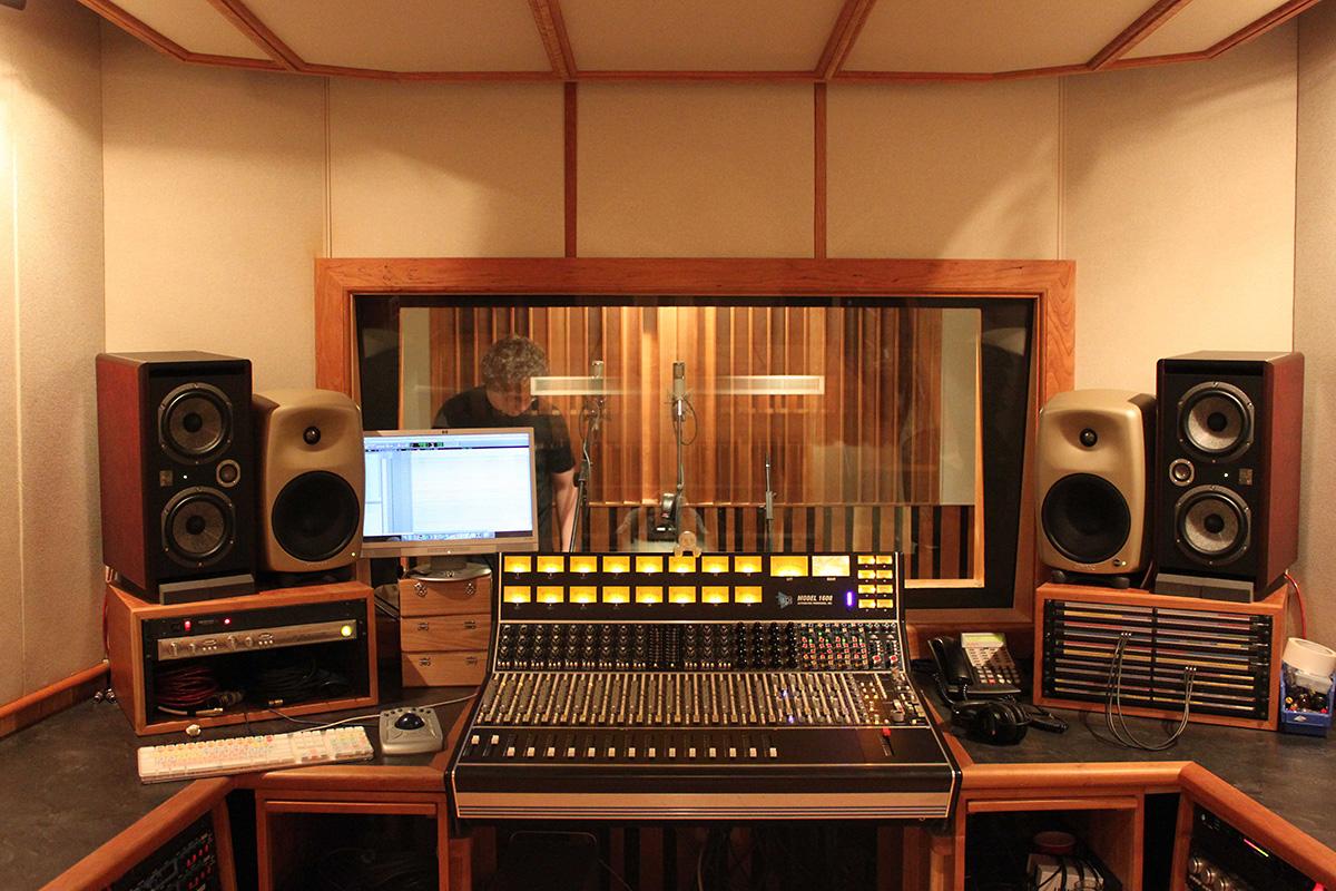 Designing A Studio Control Room