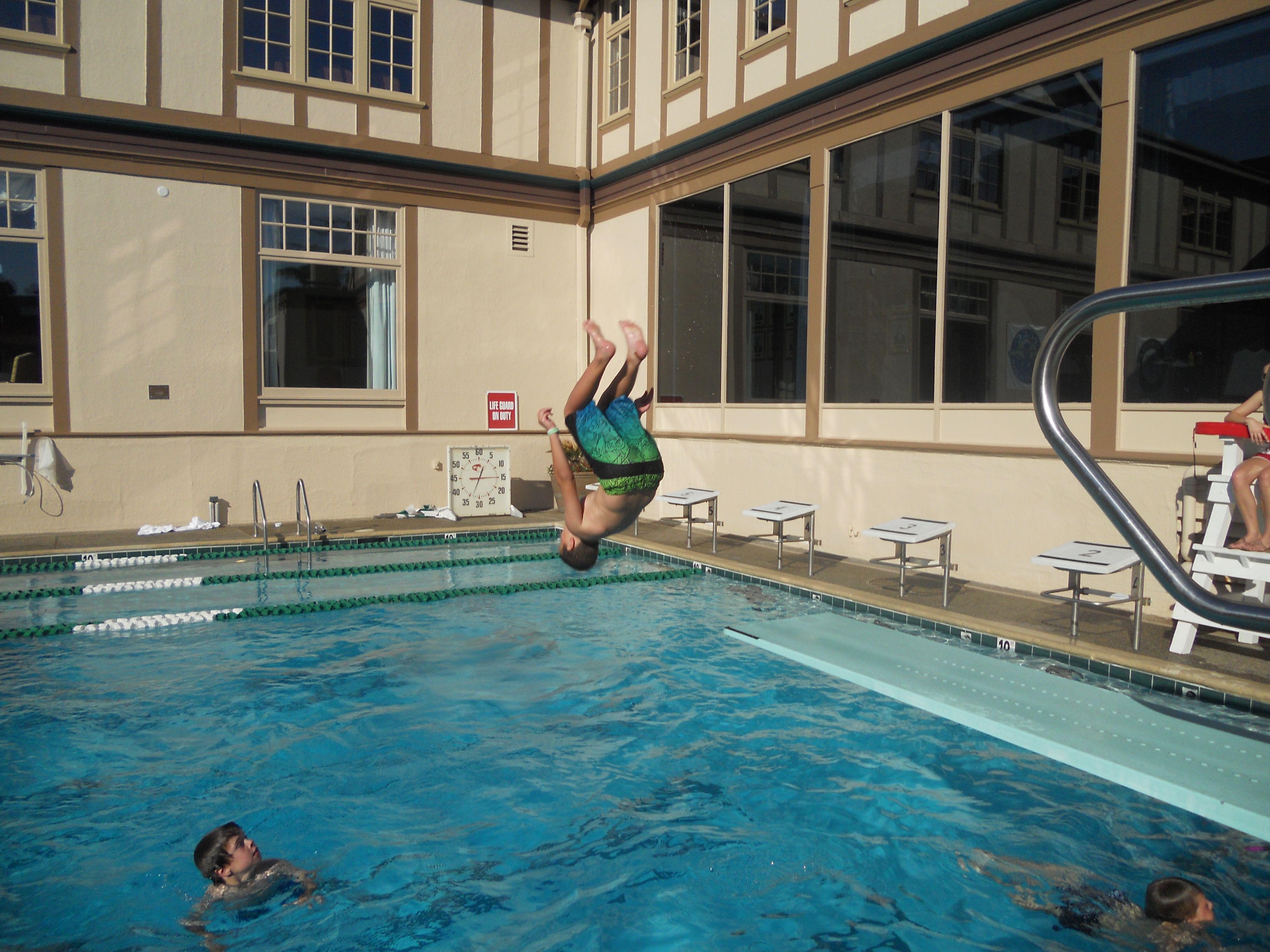 Backflip In The Swimming Pool Power By Shinin 39 Kid